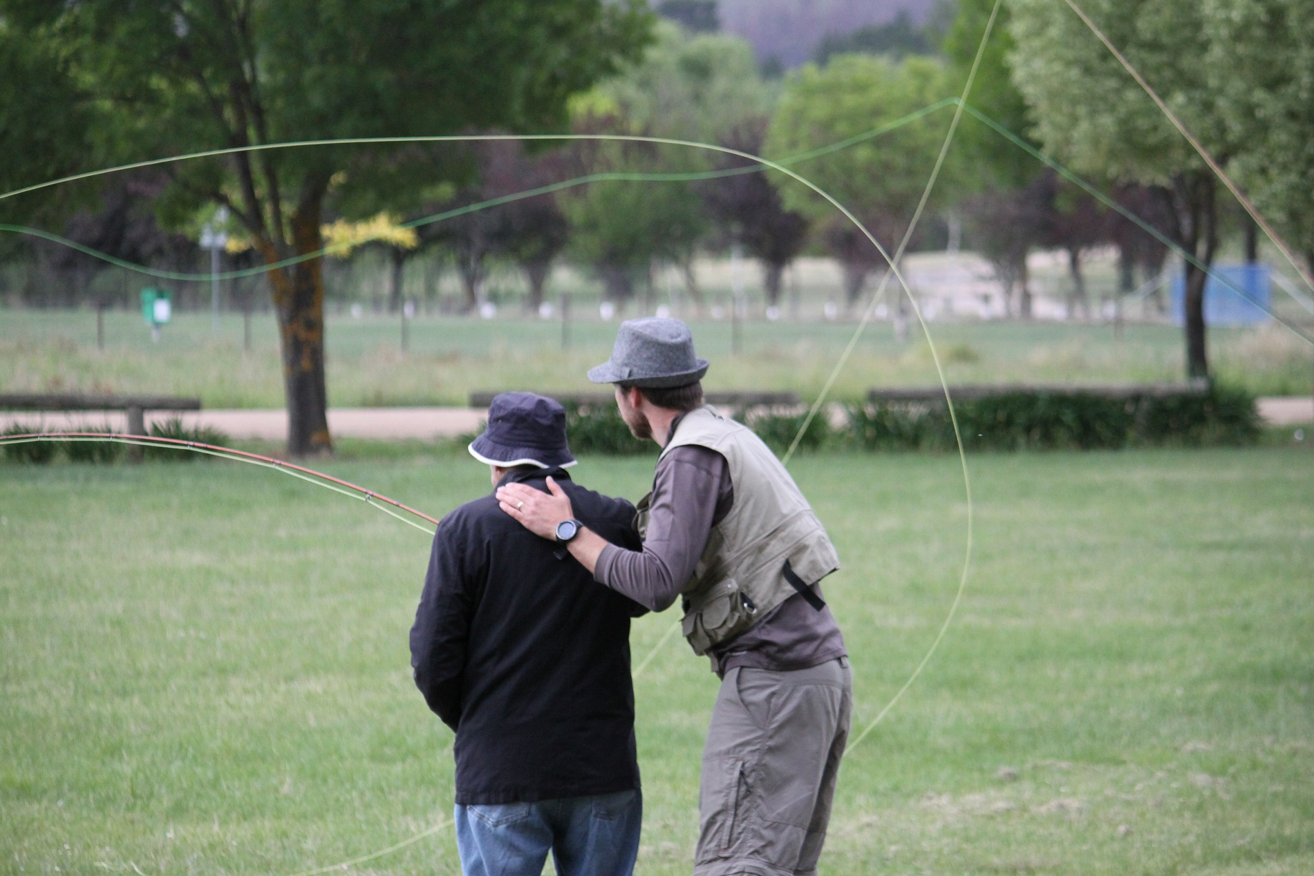 Casting lessons courses wilderness adventures for Fly fishing classes